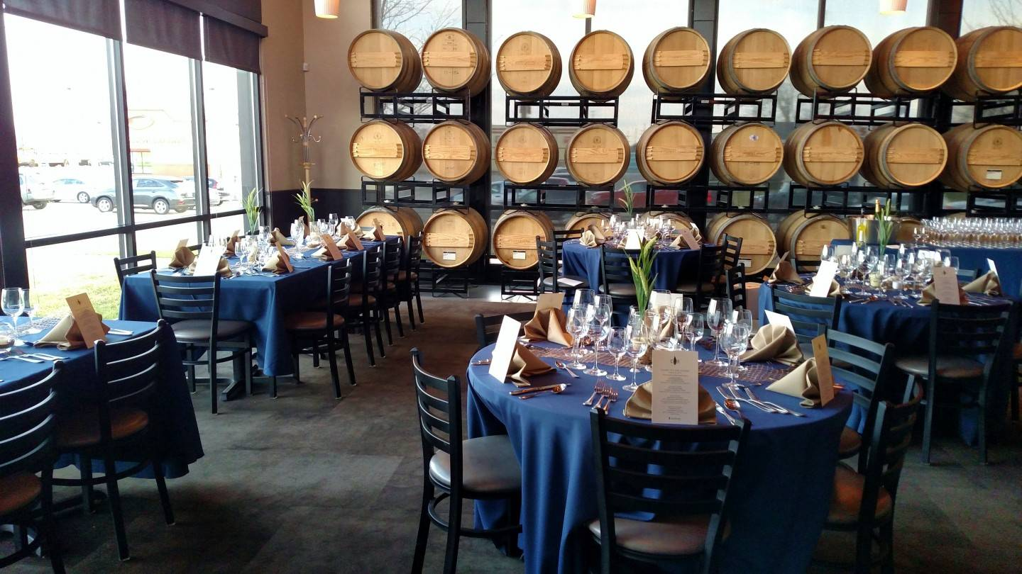 Private Dining Room - Barrel Room