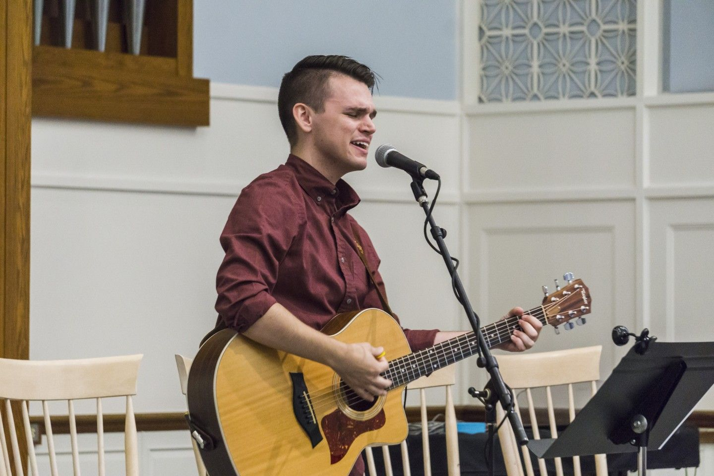 Worship Leader Matt Meyrick